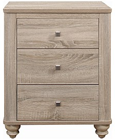 Wenham 3-Drawer Nightstand