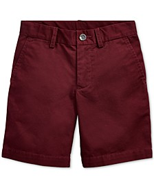 Toddler Boys Flat Front Shorts