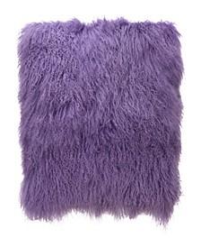 """Lamb Fur Large Pillow 22"""" x 7"""""""