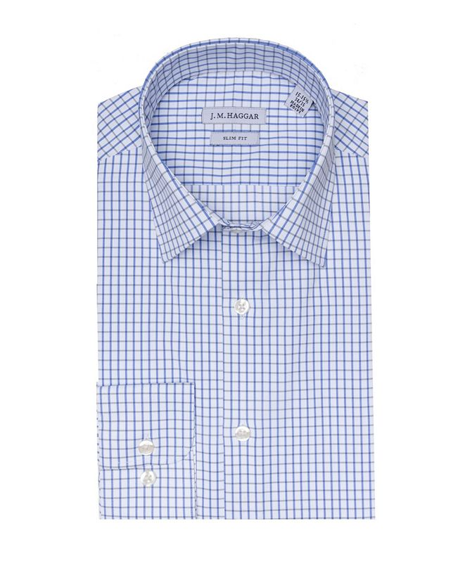 Haggar JM Premium Performance Slim Fit Dress Shirt