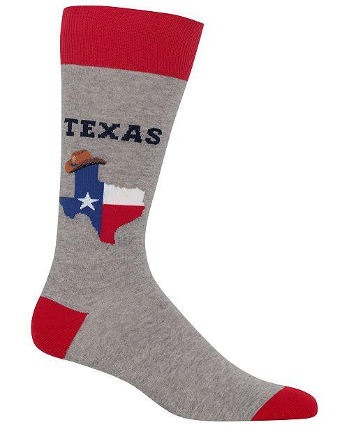 Hot Sox Men's Texas Socks