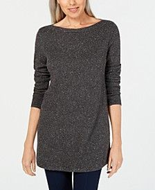 Curved-Hem Tunic Sweater, Created for Macy's