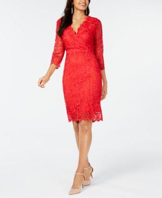 macy's long sleeve cocktail dresses