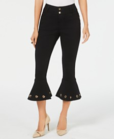 Thalia Sodi Cropped Embellished Jeans, Created for Macy's