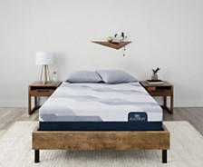 i-Comfort by Serta BLUE 300CT 11'' Plush Mattress Collection