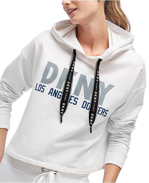 DKNY Women's Los Angeles Dodgers Maddie Hoodie