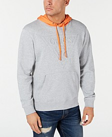 Men's Roy Colorblocked Embossed Logo Hoodie