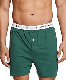 Men's 3-Pk. Classic Knit Cotton Boxers