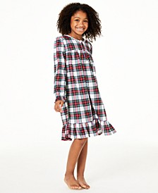 Matching Kids Stewart Plaid Nightgown, Created for Macy's