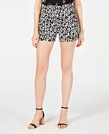 INC Print Bengaline Shorts, Created for Macy's