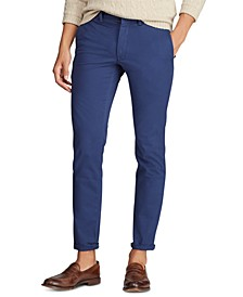 Men's Stretch Slim Fit Cotton Twill Pants