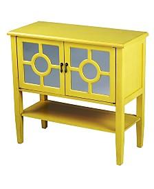 Heather Ann Hampton 2-Door Console Cabinet with Shelf