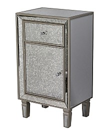 Heather Ann Eleganza Tall Antique Accent Cabinet with Drawer
