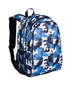 "Blue Camo 15"" Backpack"