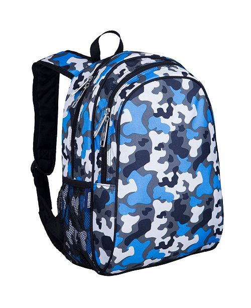 "Wildkin Blue Camo 15"" Backpack"