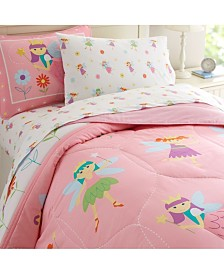 Wildkin's Fairy Princess Toddler Sheet Set