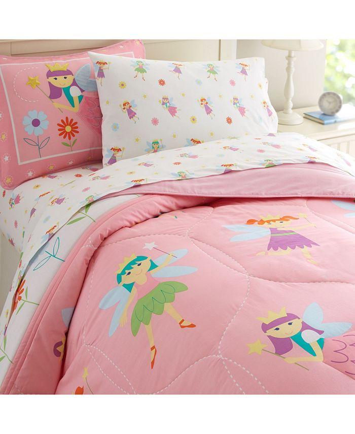 Wildkin - Fairy Princess Toddler Sheet Set