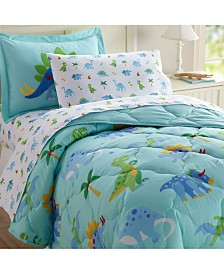 Wildkin's Dinosaur Land Sheet Set - Twin
