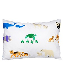 Wildkin's Endangered Animals Hypoallergenic Toddler Pillowcase
