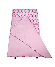Big Dot Pink and White Easy Clean Nap Mat