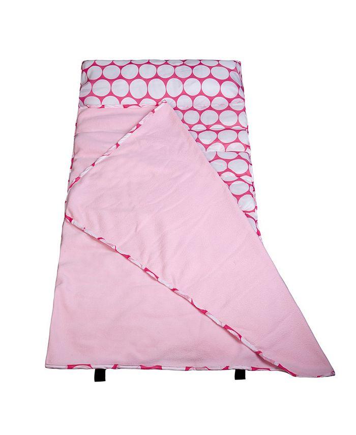 Wildkin - Big Dot Pink & White Easy Clean Nap Mat