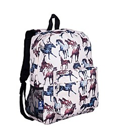 """Horses in Pink 16"""" Backpack"""