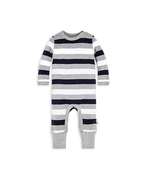 f3a856dc404 Burt's Bees Baby Organic Cotton Henley Coverall & Reviews - All Baby ...