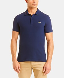 Lacoste Rainbow Logo Slim-Fit Polo Shirt