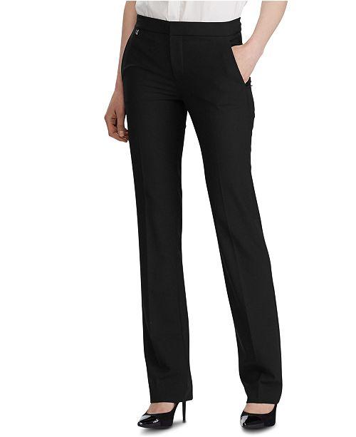 Lauren Ralph Lauren Straight-Leg Pants