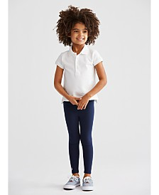 Polo Ralph Lauren Toddler Girls Polo Shirt & Leggings