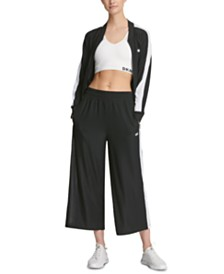 DKNY Sport Wide-Legged Cropped Pants