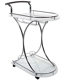 Monarch Specialties Clear Home Bar