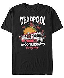 Men's Deadpool Taco Tuesday Short Sleeve T-Shirt