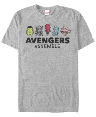 Men/'s Marvel Avengers Assemble  T Shirts