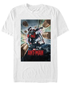 Marvel Men's Ant-Man Movie Poster Short Sleeve T-Shirt