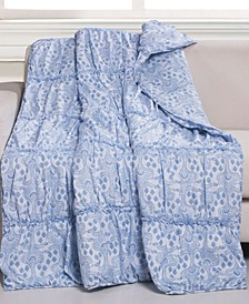 "Helena Ruffle Throw - 50"" x 60"""