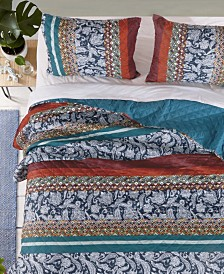 Greenland Home Fashions Vista Quilt Set, 3-Piece Full/Queen