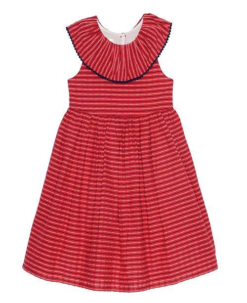 e0f809730 ... Laura Ashley & Marmellata Laura Ashley London Baby Girl's Ruffle Collar  Seersucker Dress ...