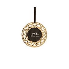 Heart Gold Frame Ornament