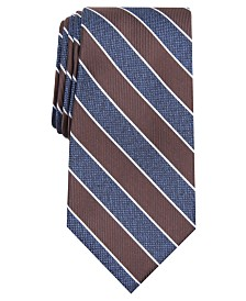 Club Room Men's Classic Stripe Tie, Created for Macy's