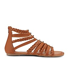 Btw Braided Strap Sandals