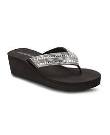 Olivia Miller Sugar Magnolia Wedge Sandals