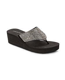 Olivia Miller Happy Wedge Sandals