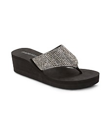 Olivia Miller Happy Wedge Sandals