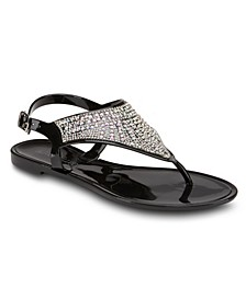 All The Feelz Jelly Sandals