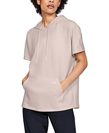 Women's Hooded Short-Sleeve Tunic