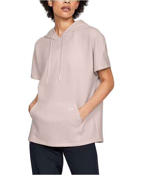 Under Armour Women's Hooded Short-Sleeve Tunic