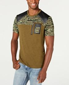 I.N.C. Men's Blocked T-Shirt, Created for Macy's