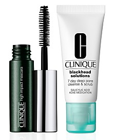 Receive a FREE 2 pc gift with $55 Clinique purchase!