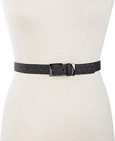 Michael Michael Kors Logo-Print Belt